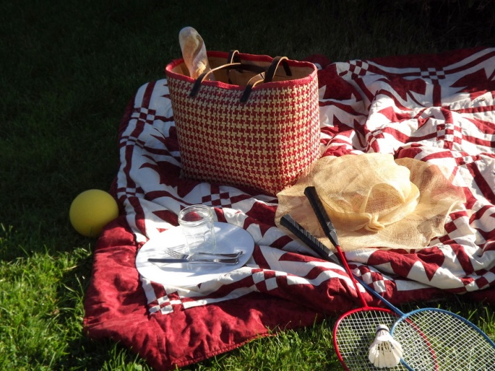 school picnic done sustainably